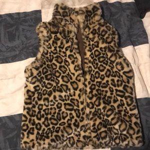 Cheetah- Print GAP Vest